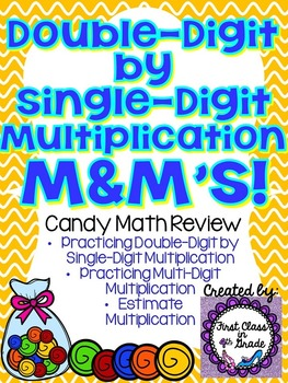 Double-Digit by Single-Digit Multiplication M&M's