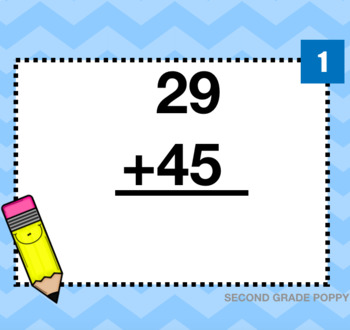 Double-Digit Addition with Regrouping Digital Center