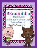 Double Digit x Double Digit Math Game Skedaddle