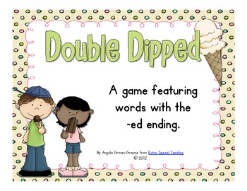 Double Dipped - Reading words with -ed ending