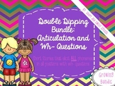 Double Dipping Bundle: Articulation and Wh- Questions