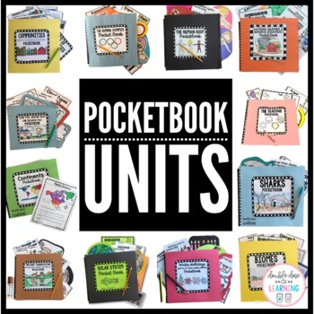 Science and Social Studies YEAR LONG POCKETBOOK MEGA Bundle!