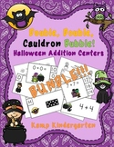 Double Double Cauldron Bubble Halloween Addition Math Cent