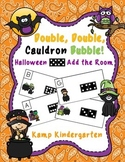 Double, Double, Cauldron Bubble!  Halloween Domino Add the Room (Sums to 18)