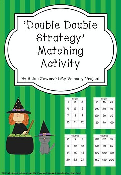 Double Double Strategy Matching Activity