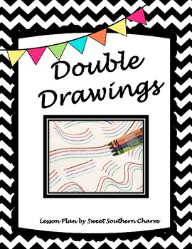 Double Drawing Art Lesson by Sweet Southern Charm