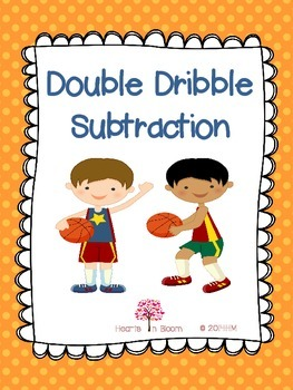 Double Dribble Subtraction (30 Worksheets: Regrouping and