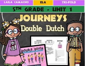 Journeys Grade 5 Trifold (Double Dutch)