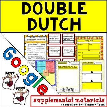 Double Dutch Journeys 5th Grade Lesson 4 Google Digital Resource