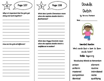 Double Dutch Trifold - Journeys 5th Grade Unit 1 Week 4 (2011)