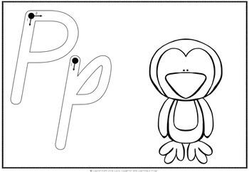Queensland Print Double Duty Alphabet Mats for Playdough or Handwriting!