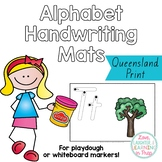 Queensland Print Handwriting Mats