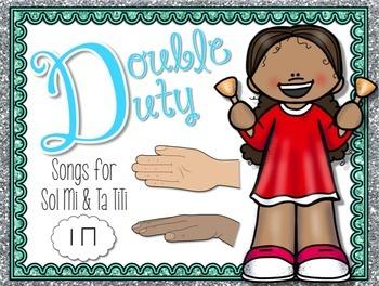 Double Duty Kodaly Bundle {Ta TiTi} {Sol Mi}