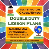 Double Duty Lesson Plan - Cause and Effect Text Structure
