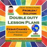 Double Duty Lesson Plan - Problem/Solution Text Structure