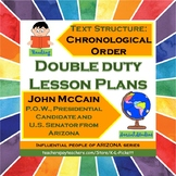 Double Duty Lesson Plan - Text Structure of Chronology and