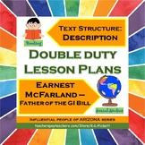 Double Duty Lesson Plan - Text Structure of Description an