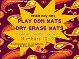 Double-Duty Mats-Use with Play Doh and Dry Erase Markers