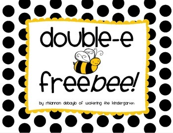 Double-E Words Freebie