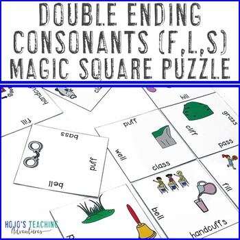 Double Ending Words FF LL SS | Double Ending Consonants