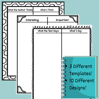 Double Entry Journal Templates