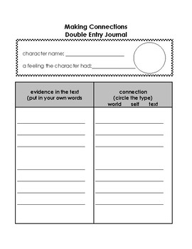 Double Entry Journal