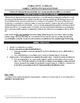 Double-Entry Journal - Description, Worksheet, and Teacher Model