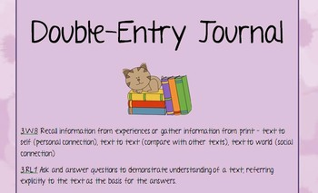 Double-Entry Journal - Making Connections