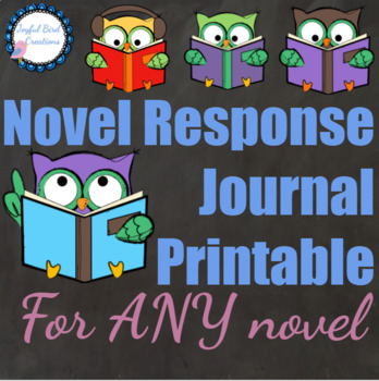 Double Entry Journal for ANY novel