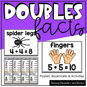 Doubles Facts Posters and Activities Building Number Fluency