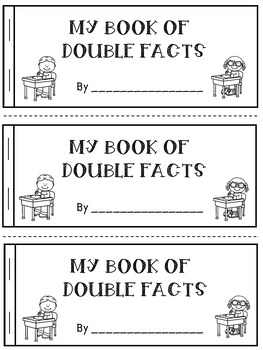 1st Grade Math Fact Fluency: Double Facts Practice