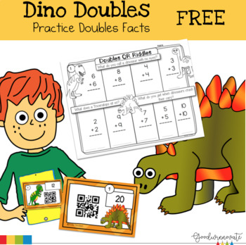 Double Facts Dino Doubles