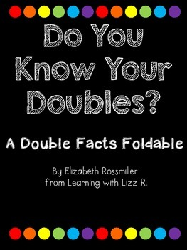 Double Facts Foldable