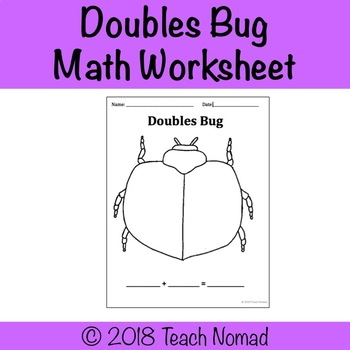 Double Facts Math Graphic Organizer