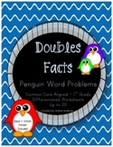 Penguin Word Problems - Doubles Facts