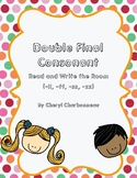 Double Final Consonant (-ff,-ss, -ll, -zz)  Read and Write