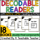 Double Final Consonants Decodable Readers