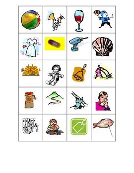 Double Final Consonants - self checking center/worksheet