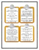 Judy Blume DOUBLE FUDGE - Discussion Cards