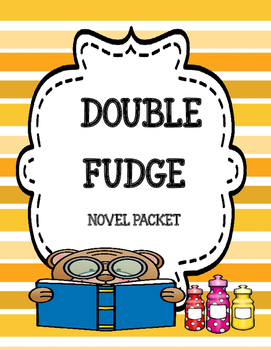 Double Fudge - Comprehension and Vocabulary Unit