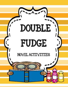 Double Fudge - Novel Activities Unit