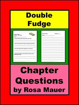 Double Fudge Reading Comprehension