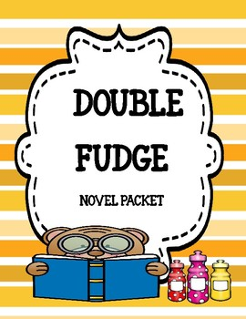 Double Fudge Novel Study Unit Bundle