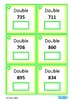 Double & Half Mental Arithmetic Math Task Cards, Autism, S