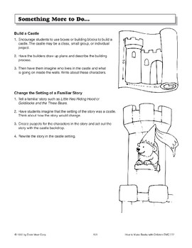 Double-Hinged Book - The Castle