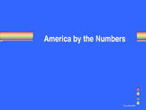 America By The Numbers Interactive Math Game (**GAME ONLY**)