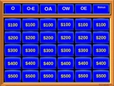 Double Jeopardy Long and Short Vowel O