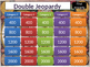 Double Jeopardy with Answer Slides Template
