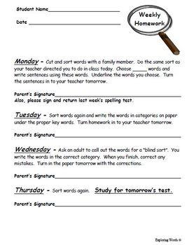 Double Letter Endings (Level K-2) - Exploring Words