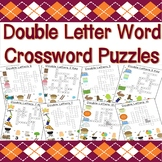 Double Letter Words Crossword Puzzles